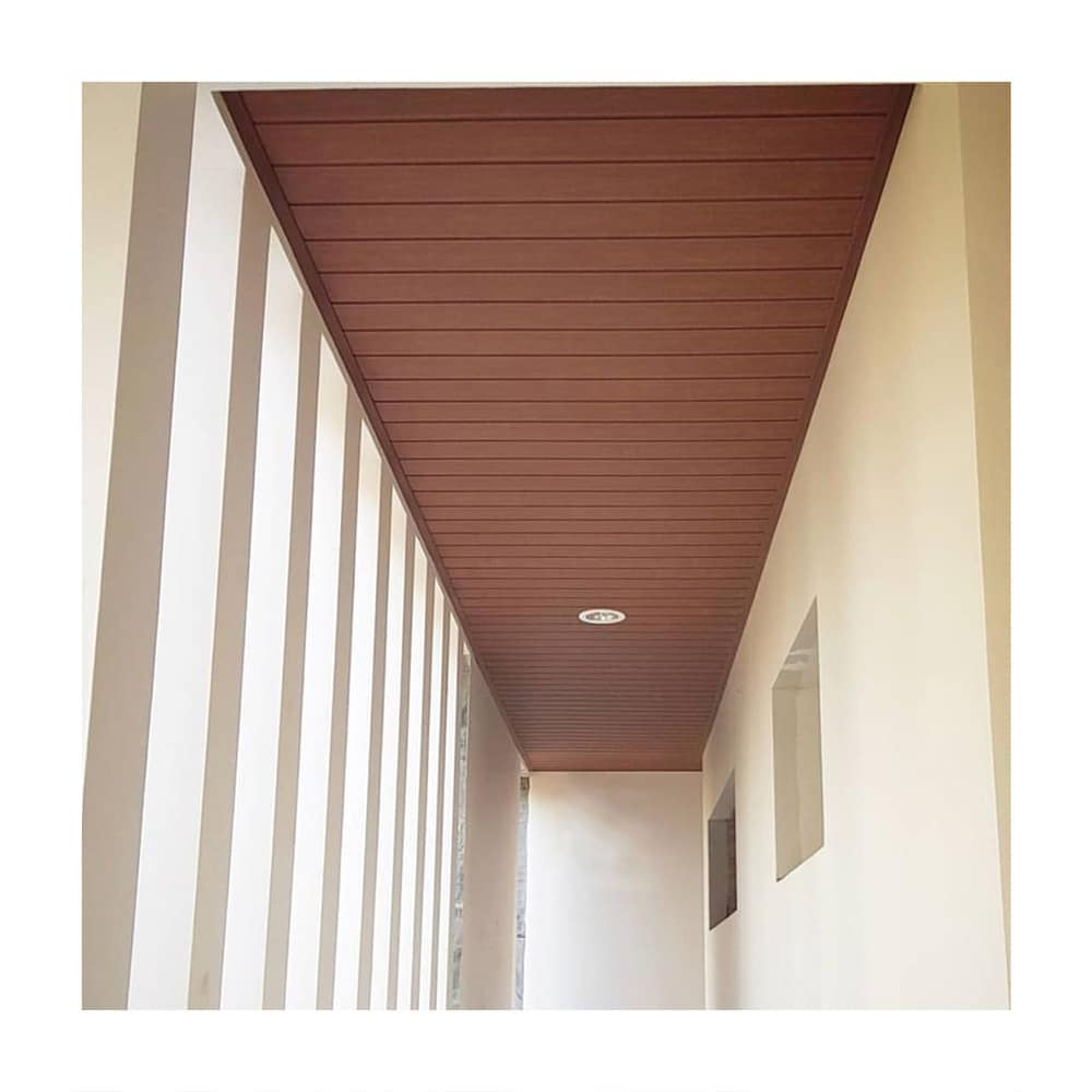 Desain Plafon Minimalis Ruang Tamu By Kayu Asri Wpc Kayu Asri