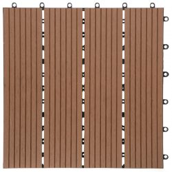 DECKING TILE DIY 1 WOOD