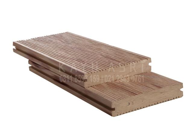 Produk Decking WPC WOOD Rhine Oak White
