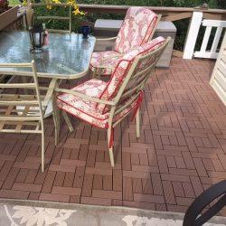 Produk Decking Tile WPC